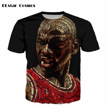 PLstar Cosmos Newest Jordan 3d t shirts Fashion Summer t shirts Men/Boy star Tee Tops Clothes  size S-5XL