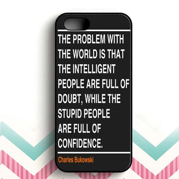 Ain't that the truth. The ones that ought to have conviction, are the ones that sit there all clueless. iPhone 5 and  5s case