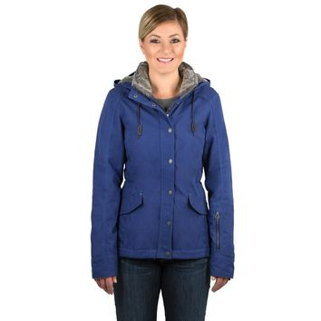 Noble Outfitters Girls Tough Canvas Jacket - Twilight Blue