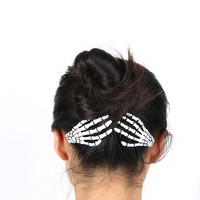 Hair Clip Hairpin Zombie Punk Horror Bobby Pin Barrette For Women hair