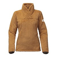 Women's Campshire Sherpa Fleece Pullover in Biscuit Tan by The North Face - FINAL SALE