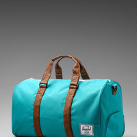 Herschel Supply Co. Novel Duffle in Teal/Tan from REVOLVEclothing.com