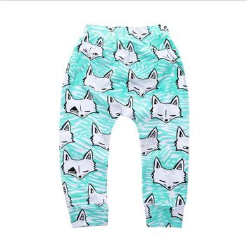 Children underwear trousers girl and boy super cute PP big pants trousers