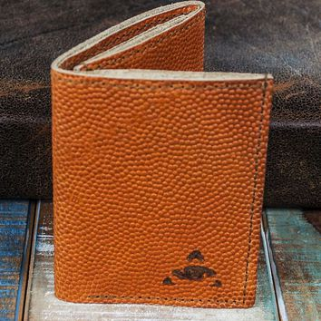 6-Slot Trifold Wallet - The Stanza (Horween Basketball Leather)