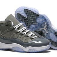 Air Jordan 11 Retro Cool Grey  White 378037-001