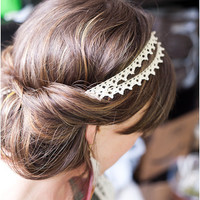 DIY: Double Strand Lace Headband | McLaughlin Designs