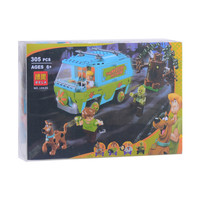 Bela 10430 Scooby Doo Mystery Machine Bus Minifigures Building Block Minifigure Toys Compatible With P029