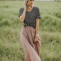 Linen Maxi in Mauve - Henly