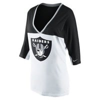 Nike Store. Nike Football Style (NFL Raiders) Women's Top