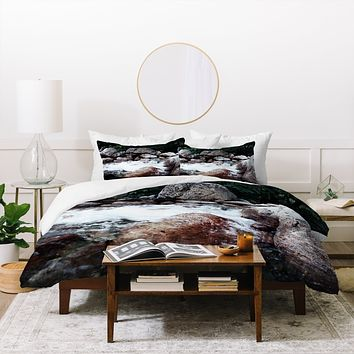 Leah Flores Yosemite Creek Duvet Cover