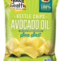 Good Health Avocado Oil Kettle Chips - Sea Salt - 5 oz each