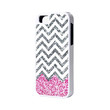 Pink Glitter iPhone 6 Plus 6 5S 5 5C 4 Rubber Case