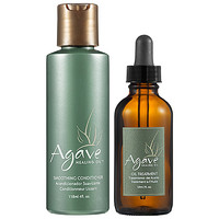 Agave Healing Oil and Conditioner Set