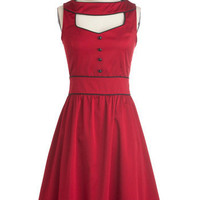 Stylish at the Cinema Dress | Mod Retro Vintage Dresses | ModCloth.com