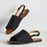 Varied Itinerary Sandal in Black | Mod Retro Vintage Sandals | ModCloth.com