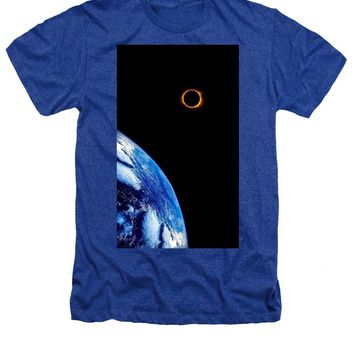 Solar Eclipse From The Space By Adam Asar - Heathers T-Shirt