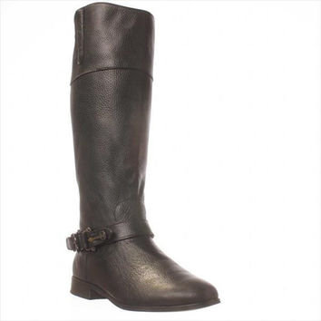 Dolce Vita Channy Riding Boots, Black, 7.5 US