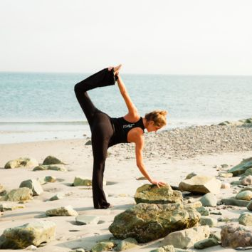 Amazing Yoga Flare Pant, With Brave Wings She Flies