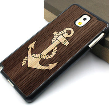 anchor Samsung case,art wood Galaxy S5 case,wood chevron Galaxy S4 case,wood anchor Galaxy S3 case,art wood samsung Note 3 case,wood chevron samsung Note 2 case,art wood design samsung Note 3 case
