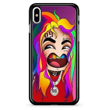 6ix9ine Cartoon 1 iPhone XR Case/iPhone XS Case/iPhone XS Max Case