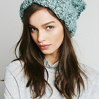 Free People Womens Florence Cuff Beanie