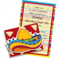 Paper So Pretty - FIESTA INVITATIONS, BIG SOMBRERO, PAPER SO PRETTY | Paper So Pretty - PSP FIV 783
