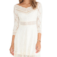 Free People Lacey Affair Dress in Cream