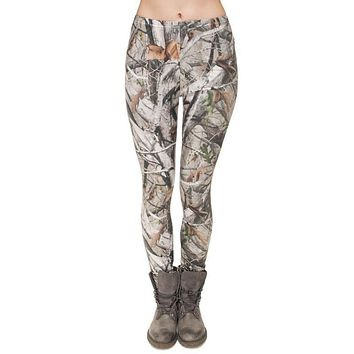 Women's Camo 3D Print/High Quality Leggings/Yoga Pants/Tights