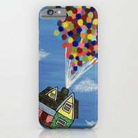 Up iPhone & iPod Case by Sierra Christy Art