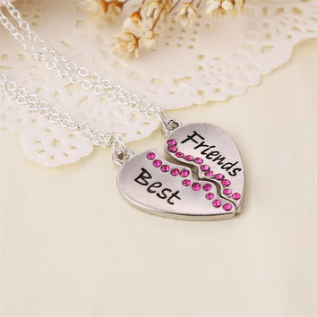 Gift Stylish Shiny Jewelry New Arrival Hot Sale Patchwork Necklace [11652445711]