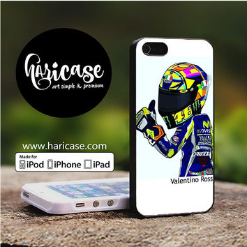 Valentino Rossi Caricature iPhone 5 | 5S | SE Cases haricase.com