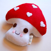 Mushy Mushy Mushroom Plush Toy / Eco Friendly