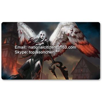 Many Playmat Choices - Avacyn the Purifier - MTG Board Game Mat Table Mat for Magical Mouse Mat the Gathering 60 x 35CM