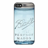 Ball Mason Jar Vintage Glass iPhone 5s Case