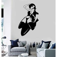 Wall Stickers Vinyl Decal Super Sexy Hot Girl Bomb Cool Room Decor Unique Gift (ig1837)