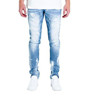 Embellish Nyc Hazel Jeans In Blue - Beauty Ticks