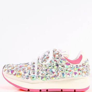 Privileged Run-It Bejeweled Sneakers