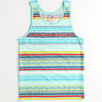 On The Byas Aztec Engineered Tank at PacSun.com