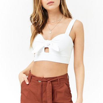Cuffed Cotton Shorts