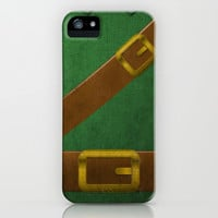 Video Game Poster: Adventurer iPhone & iPod Case by Justin D. Russo