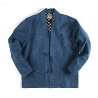 Naked & Famous Denim Kimono Shirt - Faded Indigo