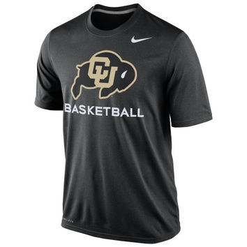 Colorado Buffaloes Nike Basketball Practice Dri-FIT T-Shirt – Black