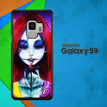 Sally The Nightmare Before Christmas Y0860 Samsung Galaxy S9 Case