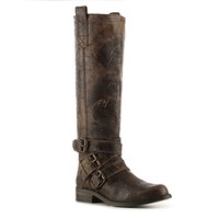 The Brodiee by Steve Madden is the perfect boot for this fall season. Its an everyday boot you can pair with any thing in your wardrobe, and the distressed look is hot for this upcoming season. This isn't just another shoe its an investment.