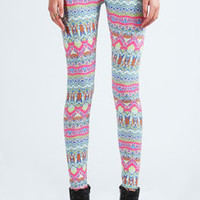 Rosie Geometric Print Leggings