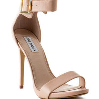 Steve Madden Shoes, Marlenee Open Toe Heel in Blush