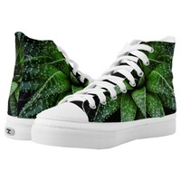 Succulent plant High-Top sneakers