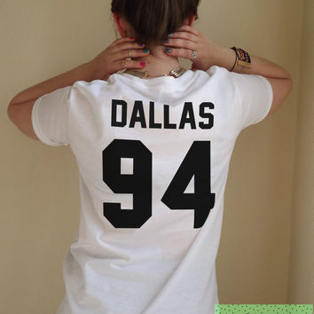 Dallas 94 Cameron T Shirt Unisex White Black Grey S M L XL Tumblr Instagram Blogger