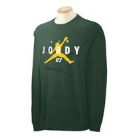 Air Jordy T-Shirt - Jordy Nelson Green Bay Packers -  87 - Adult + Youth sizes