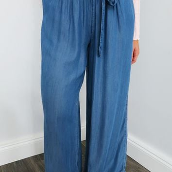 Long Time Gone Pants: Denim